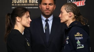 Katie Taylor takes on Delfine Persoon in the biggest fight of her professional career