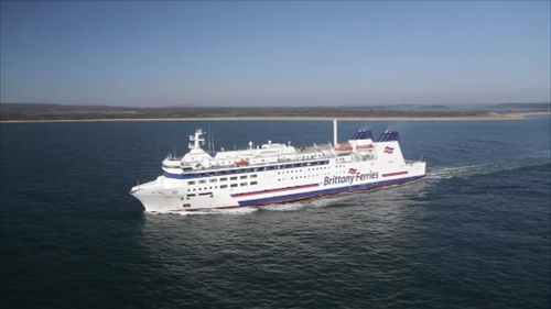 A number of sailings between Cork and Roscoff have been cancelled