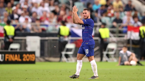 Eden Hazard scored twice in the Europa League final, but admitted he expects to leave Chelsea this summer