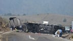 21 people killed in Mexico road crash blaze