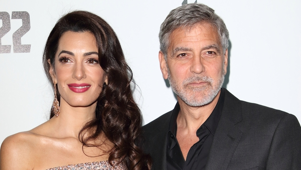 George and Amal: no flying crockery, all is cool