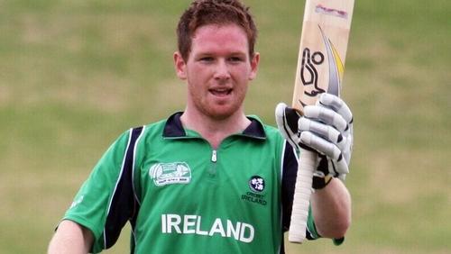 Eoin Morgan earned 63 caps for Ireland