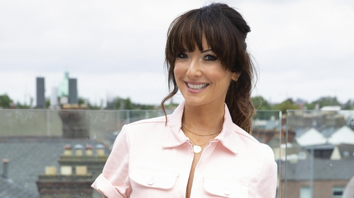 Jennifer Zamparelli at the RTÉ2FM launch