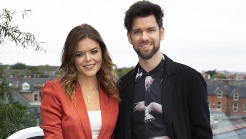 2FM's new breakfast show hosts Doireann Garrihy and Eoghan McDermott