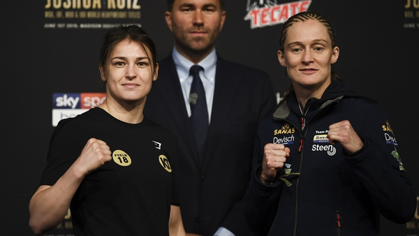 Katie Taylor and Delfine Persoon get ready to rumble for the prestigious title of undisputer lightweight champion