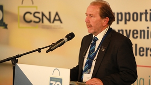 Vincent Jennings, CEO of The CSNA, speaks at the 2019 National Conference.