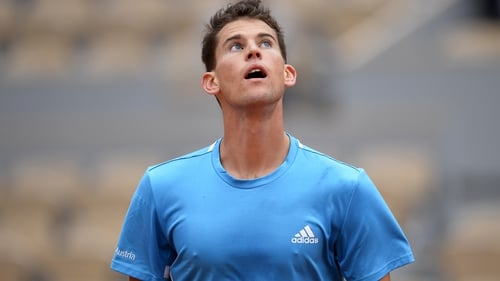 """Dominic Thiem: """"No tennis player is fighting to survive, even those who are much lower-ranked."""""""