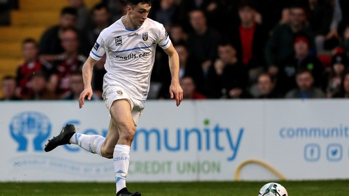 Neil Farrugia in action for UCD