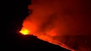 The last major eruption at Mount Etna was in 1992