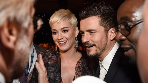 """Katy Perry: ''He must have been so nervous - actually he was, he was going like this [takes deep breaths] - and then I thought I was going somewhere ....."""""""
