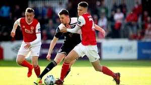 St Pats' Cian Coleman and Garry Buckley of Cork City