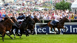Anthony Van Dyck and Seamie Heffernan storm clear at Epsom
