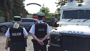 Security services evacuated the golf club when the device was discovered