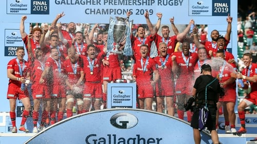 Saracens and Exeter shared 10 tries in the Premiership final