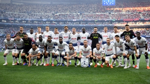 Tottenham were runners-up in last season's Champions League final