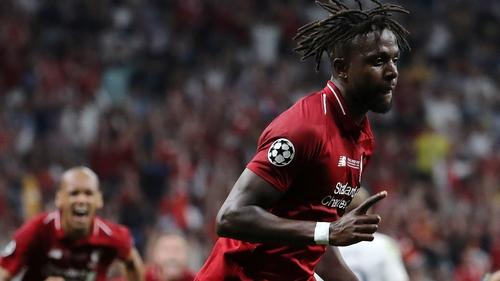 Divock Origi scored for Liverpool in the Champions League final