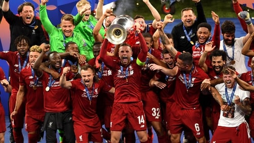Liverpool beat Spurs in May's Champions League final
