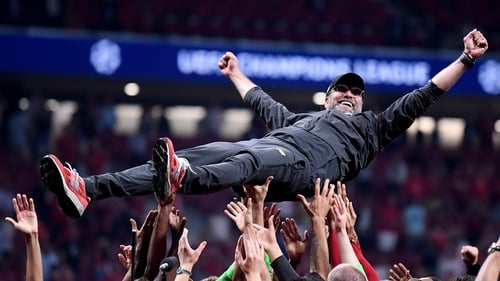 Klopp enjoyed final success at the seventh time of asking