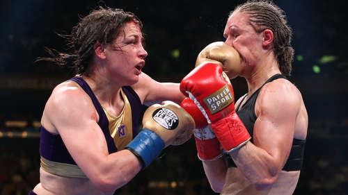 Delfine Persoon feels she did enough to beat Katie Taylor