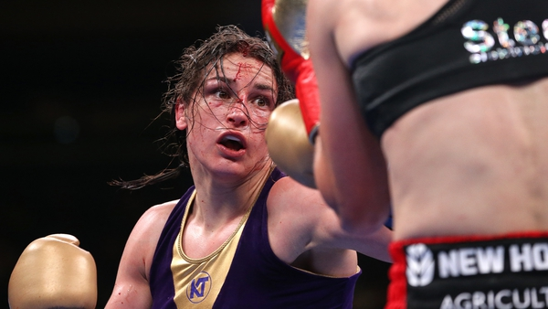 Katie Taylor enjoyed a narrow victory over Delfine Persoon