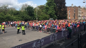 Around 30,000 people took part in Dublin's VHI Women's Mini Marathon