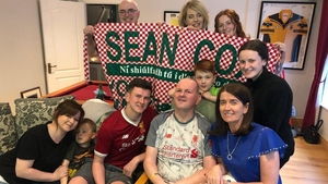 Seán Cox and family celebrate Liverpool's Champions League success