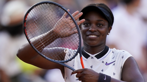 Sloane Stephens will meet Johanna Konta in the quarters