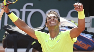 Rafael Nadal is moving well at the French Open