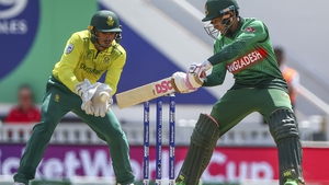 Bangladesh made 330 for six after being put into bat