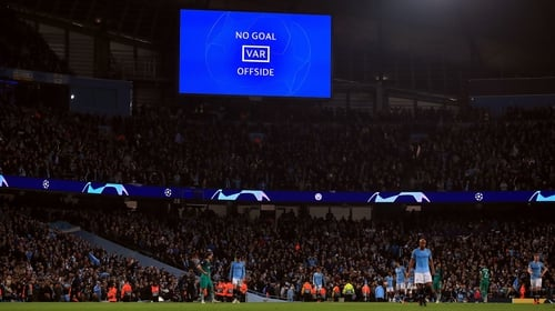 VAR will not be used for penalty movement calls