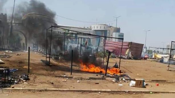Sudan military protests