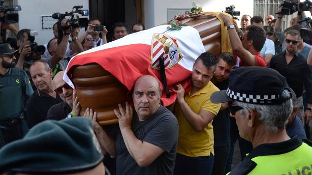 Jose Antonio Reyes: Extremadura pay tribute to former player