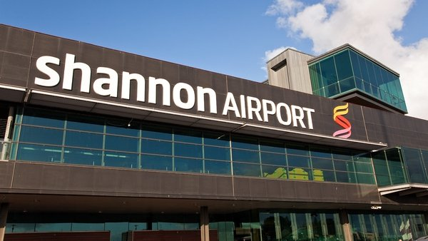 Concerns were raised about a US military aircraft that landed at Shannon on 25 January