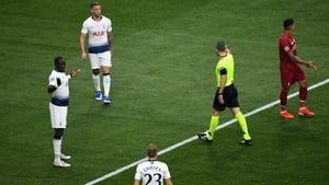Tottenham Hotspur's Moussa Sissoko was harshly penalised in the Champions League final