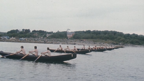 Currach Racing in An Spidéal (1979)