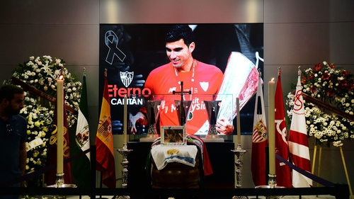 Footballer Jose Antonio Reyes was driving at more than 220km/h, say police