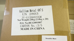 Gallium is one of the 35 minerals the US Commerce Department has designated as 'critical to economic and national security'