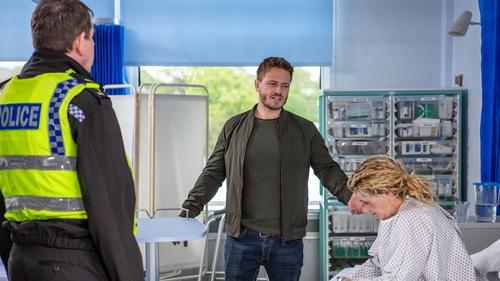 David confronts Maya at the hospital