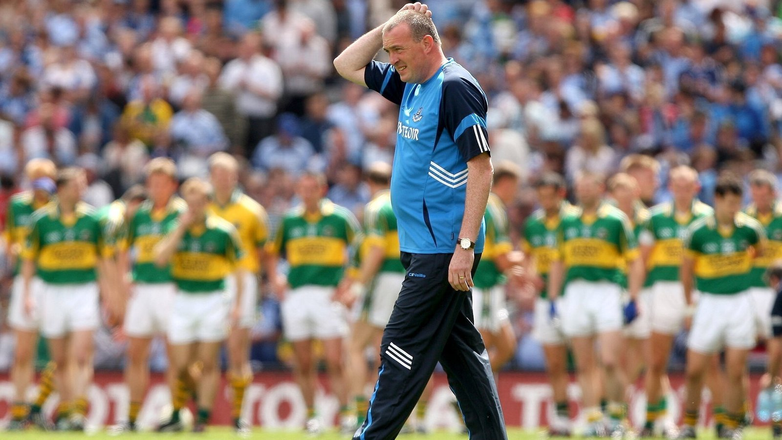 Image - Pat Gilroy's Dublin were hammered by Kerry in 2009
