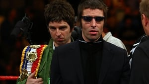 Noel and Liam Gallagher pictured in November 2008
