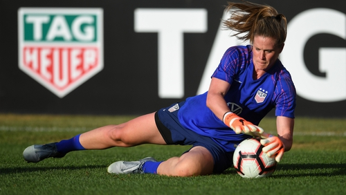 Naeher was on the bench at the 2015 World Cup and 2016 Olympics, deputy to the larger-than-life Hope Solo