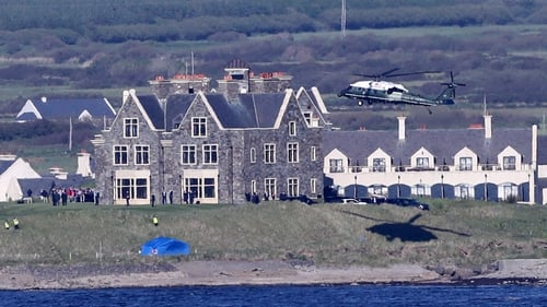 The Government said the question of it hosting an event at the Trump International Hotel in Doonbeg 'did not arise'