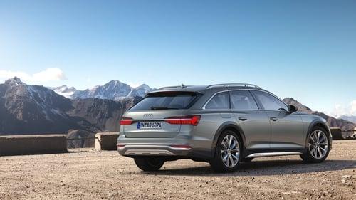 Audi's new version of the A6 Quattro estate.