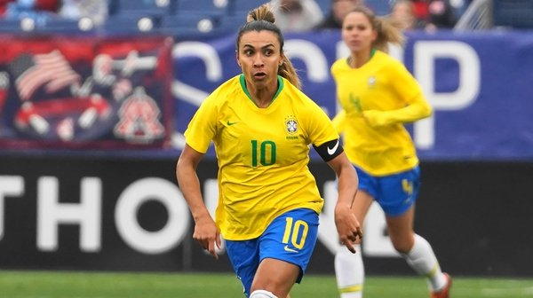 Marta and the rest of the Brazilian women will be paid the same as the Brazilian men's team