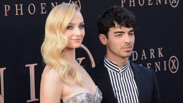 Sophie Turner with husband Joe Jonas
