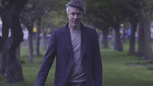 Aidan Gillen in the video for Vinci's new single When We Go Out