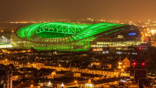 Lights off at the Aviva; Ireland's Six Nations' match against Italy has been cancelled due to the coronavirus outbreak
