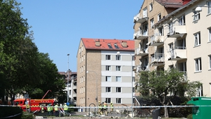 Damage caused to residential building in Linkoping