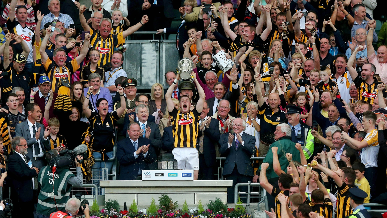 Image - Kilkenny are top Cats in Leinster