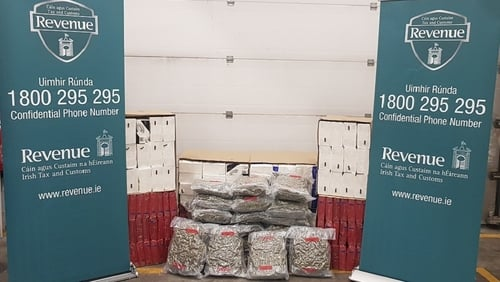 The herbal cannabis had arrived in Dublin from Spain